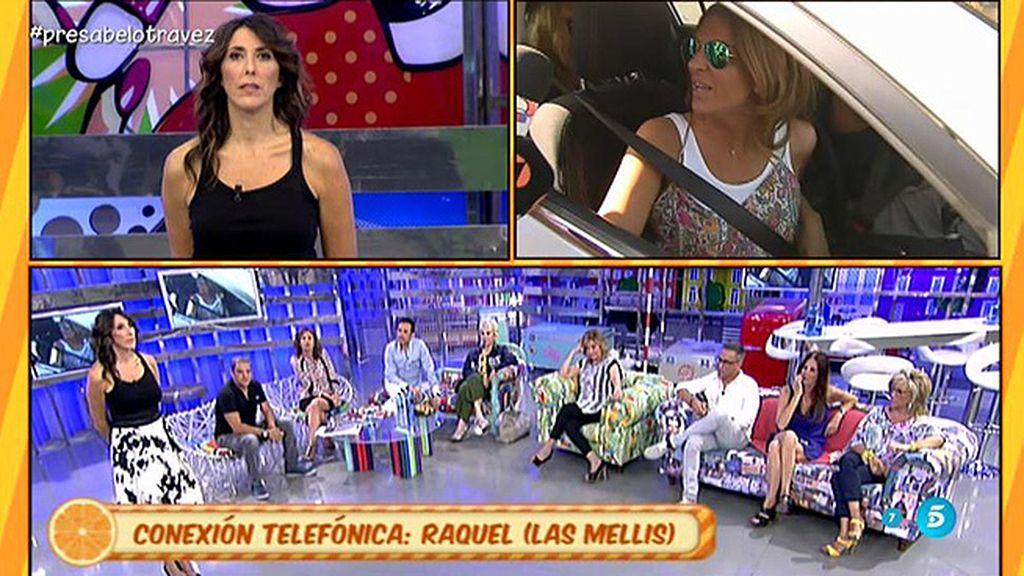 """Raquel, de Las Mellis, niega haber filtrado nada de Pantoja: """"Tengo la conciencia tranquila"""""""