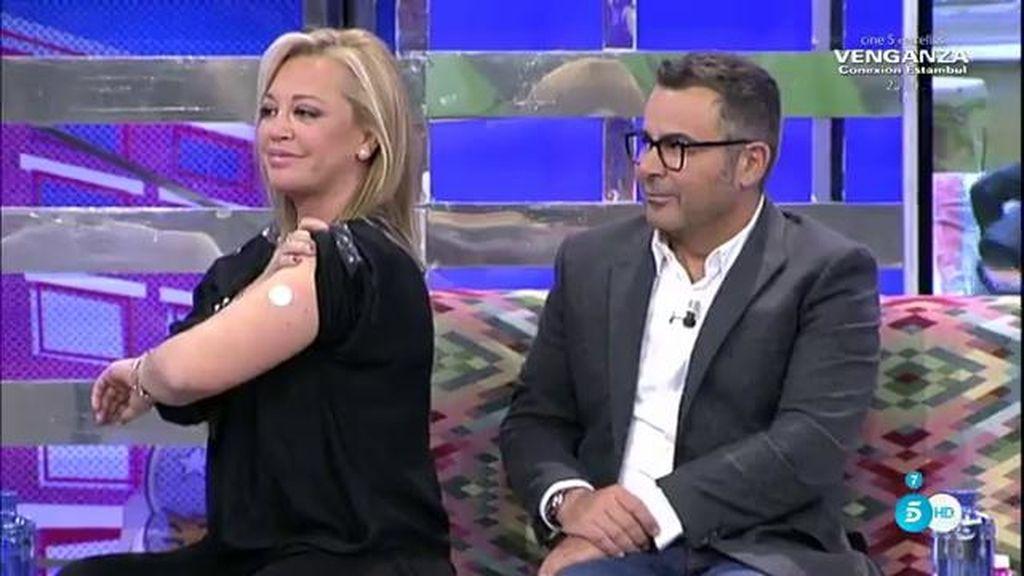 """El """"aparatito"""" que Miguel le regaló a Belén"""