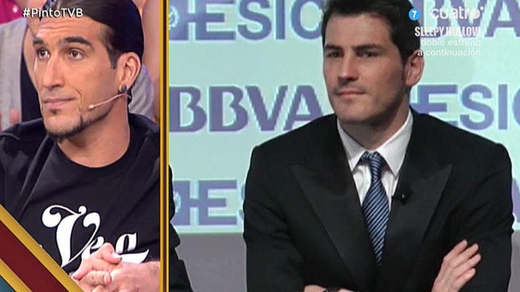 """Pinto: """"Iker Casillas ha recibido un trato muy injusto tras el Mundial"""""""