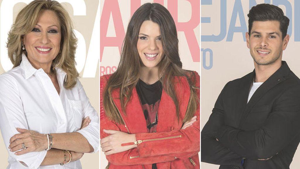 Alejandro, Rosa Benito y Laura son los nuevos nominados semanales