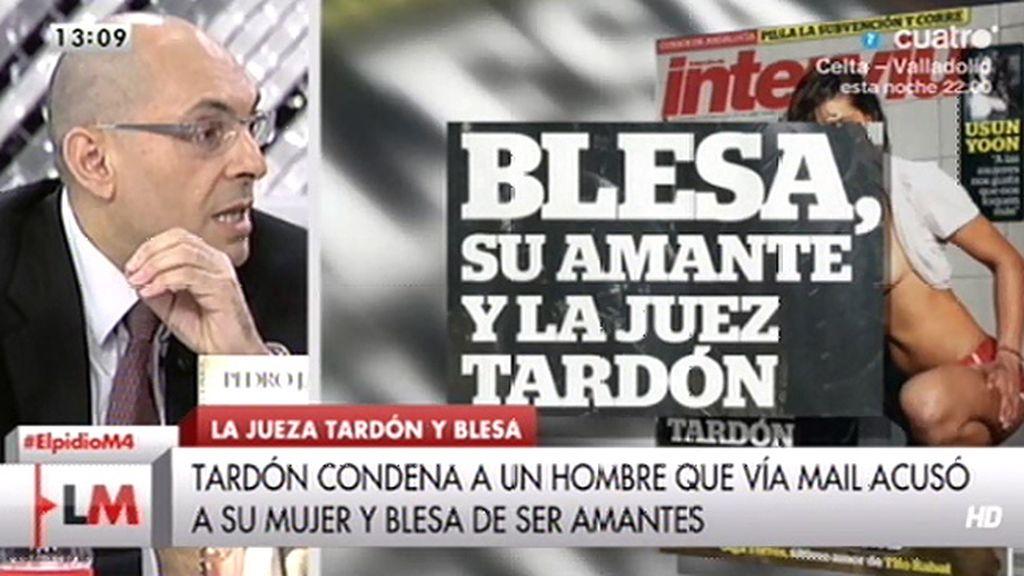 Tardón ha condenado al marido de una amiga íntima de Miguel Blesa, según Interviú