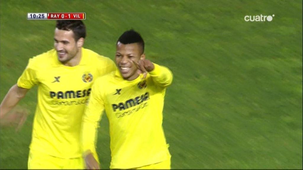 Gol de Uche (Rayo 0-1 Villarreal)
