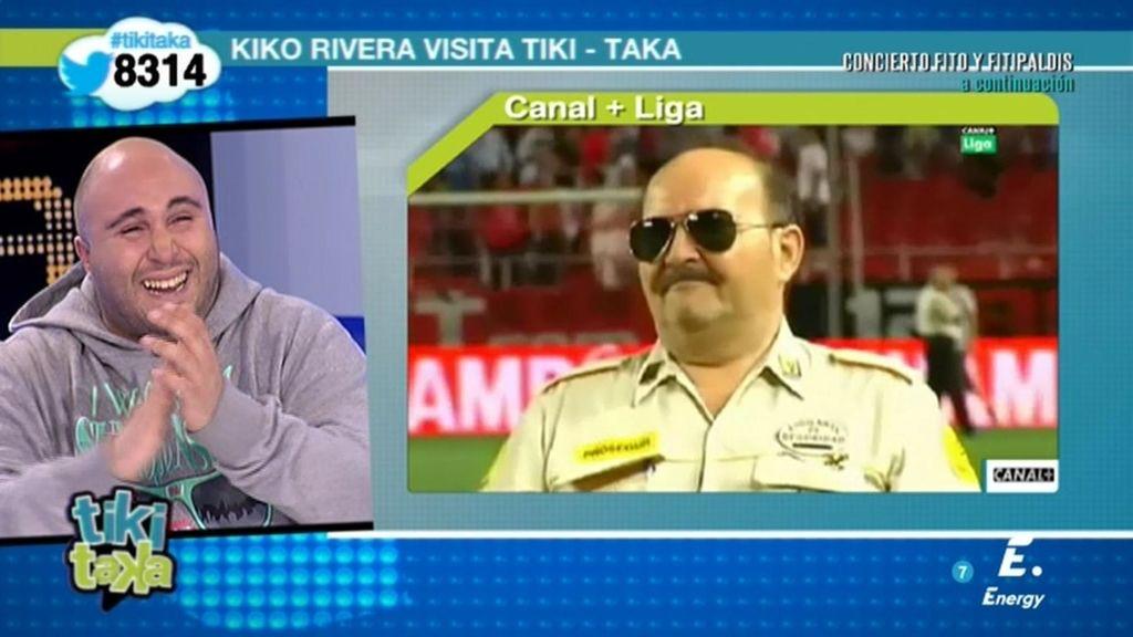 """Kiko Rivera recuerda una anécdota en el Pizjuán: """"¡Que bote Torrente!"""""""