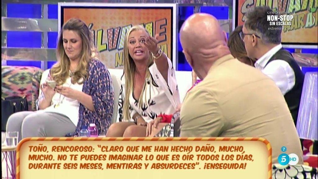 """Belén Esteban, a Kiko Matamoros: """"Dale a tu socio y amigo, que va diciendo que tu mujer tiene un querido"""""""