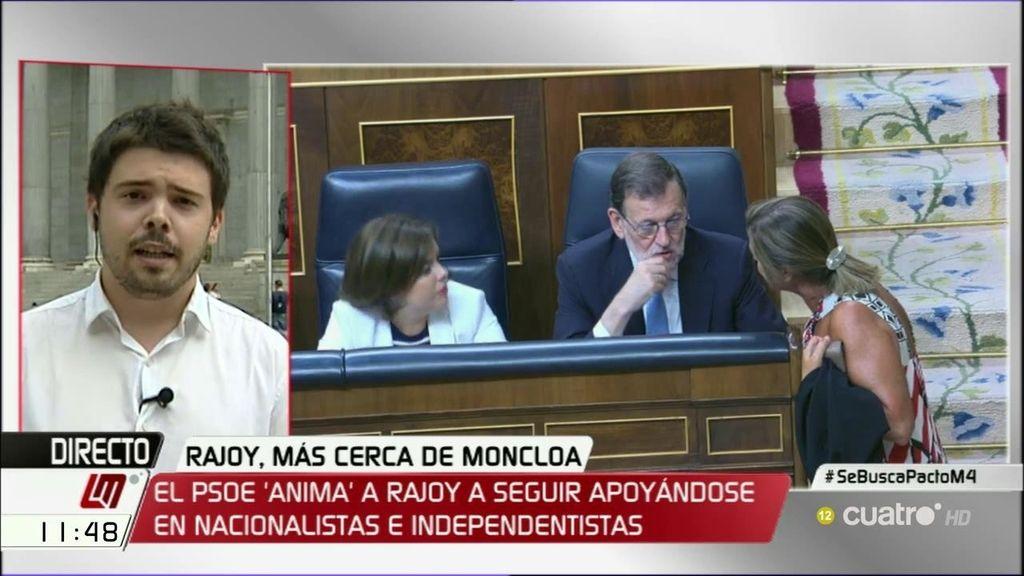 """Nacho Corredor: """"No había una alternativa viable a la presidencia de Ana Pastor porque Podemos y PSOE no se ponen de acuerdo"""""""