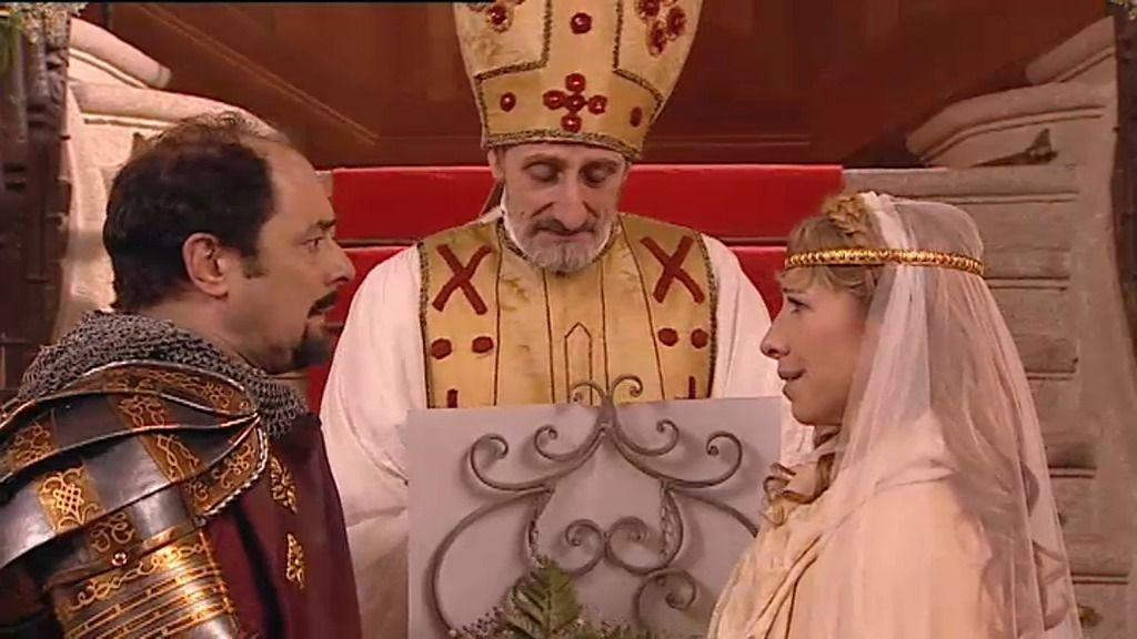 La boda medieval de Berta y Recio