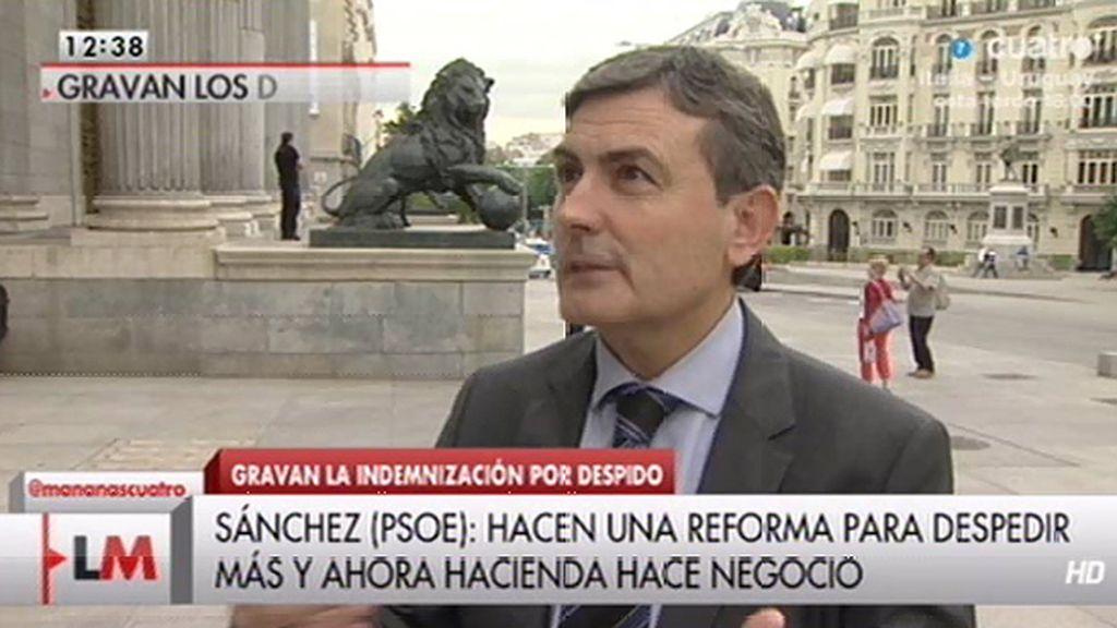 """Pedro Saura, sobre la reforma fiscal: """"Rajoy lo que hace es gravar la injusticia"""""""
