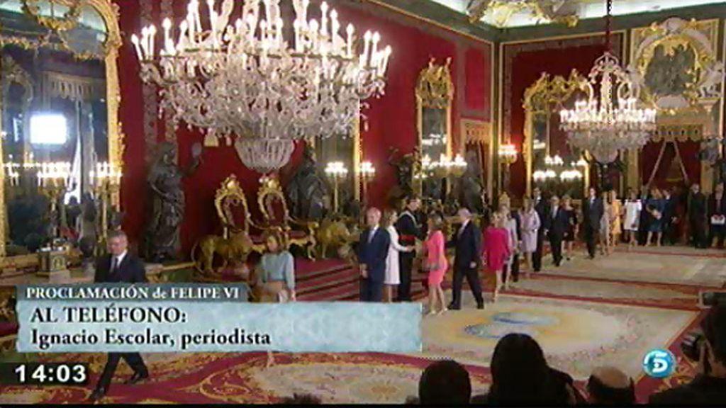 """I. Escolar, sobre el discurso del Rey: """"Me llama la atención que no hablase de corrupción pero sí de ejemplaridad"""""""