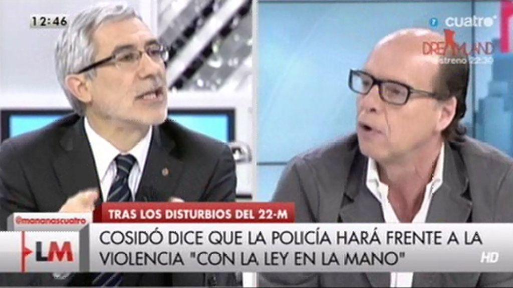 """Jaime González, a Gaspar Llamazares: """"No he visto en IU una contundente forma de decir que eso no es democracia"""""""