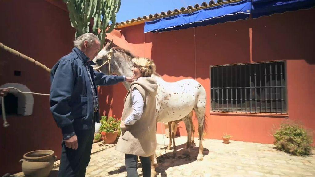Aguirre bautiza a los potrillos de Bertín