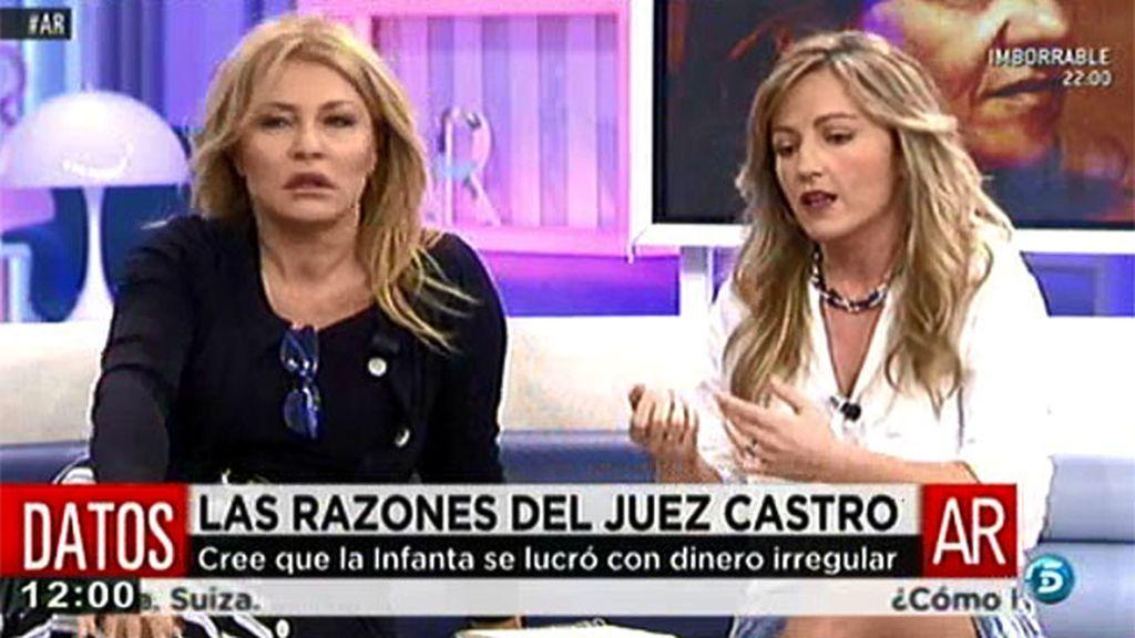 La Infanta Cristina hacía uso del dinero de Aizoon de forma independiente, según Sandra Aladro