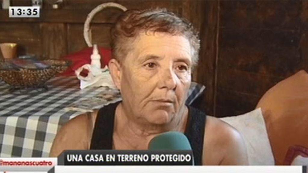 """Josefa, desahuciada: """"No sé el tiempo que voy a estar en prisión"""""""