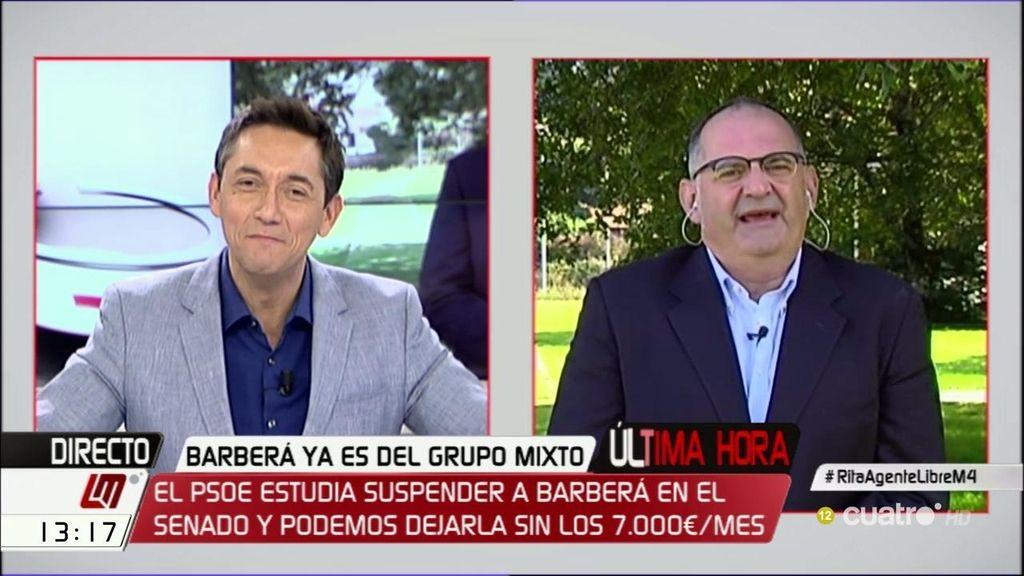 """Antón Losada: """"No están presionando a Rita Barberá, la están encubriendo"""""""