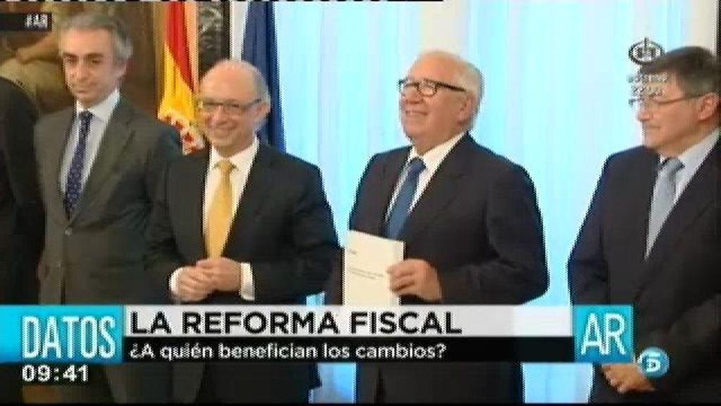 Los técnicos de hacienda aseguran que la reforma fiscal propuesta favorece a las rentas más altas