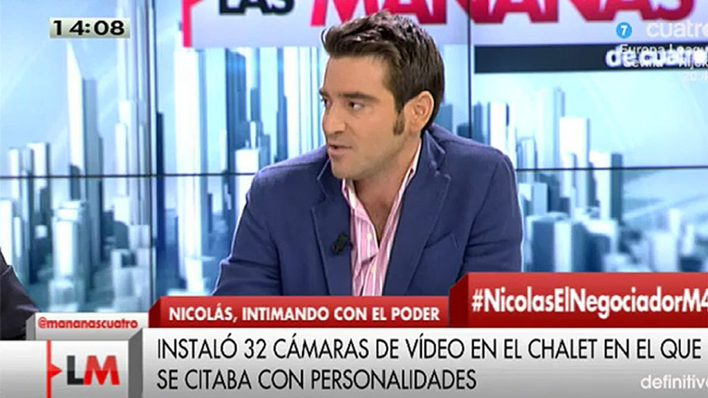 """Javier Negre: """"En el chalet ha estado un miembro del gobierno"""""""