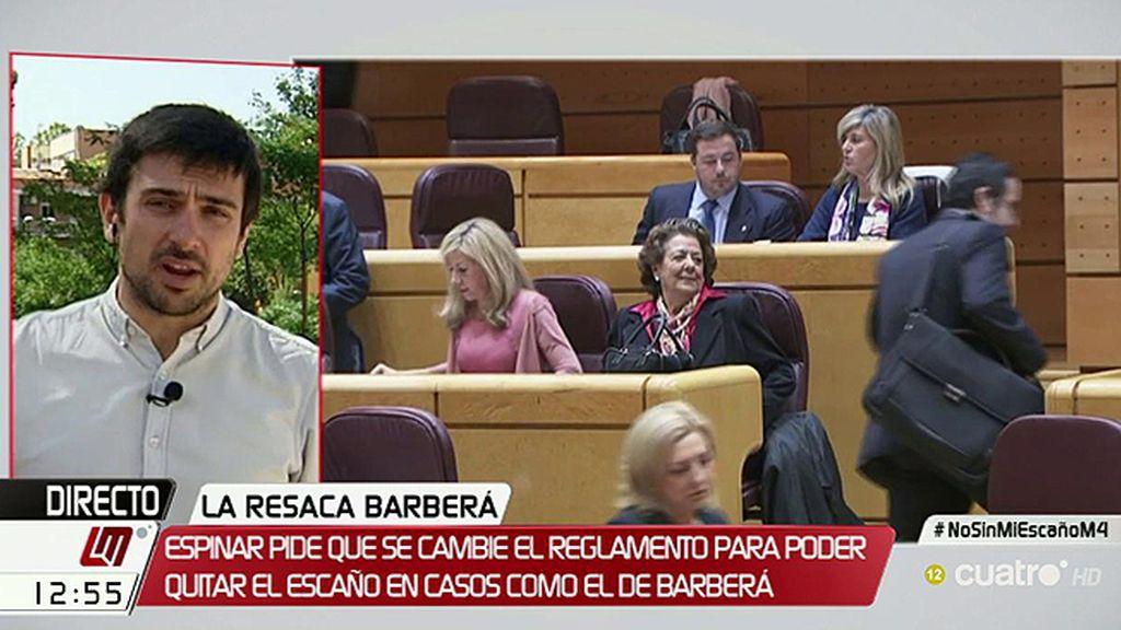 """Ramón Espinar, Podemos: """"Si cambiásemos el sistema Barberá estaría en la cárcel"""""""