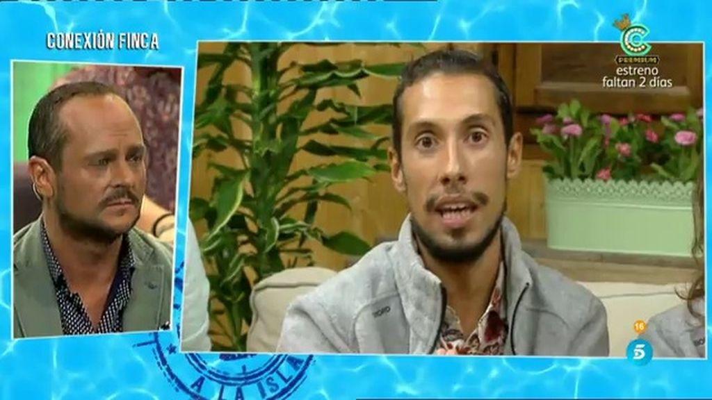 """Jesús Reyes: """"Miriam fue la que dijo cierta información sobre Cristian"""""""