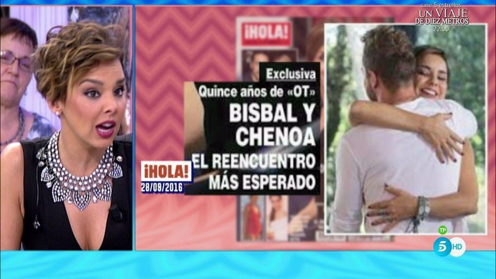 """Chenoa, de su foto con Bisbal: """"Sé que la gente ha empatizado con esta historia"""""""