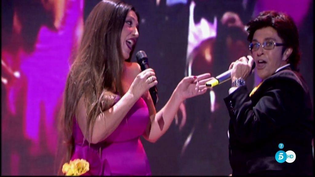 Lydia y Chelo Gª Cortés se meten en la piel de Al Bano y Romina Power