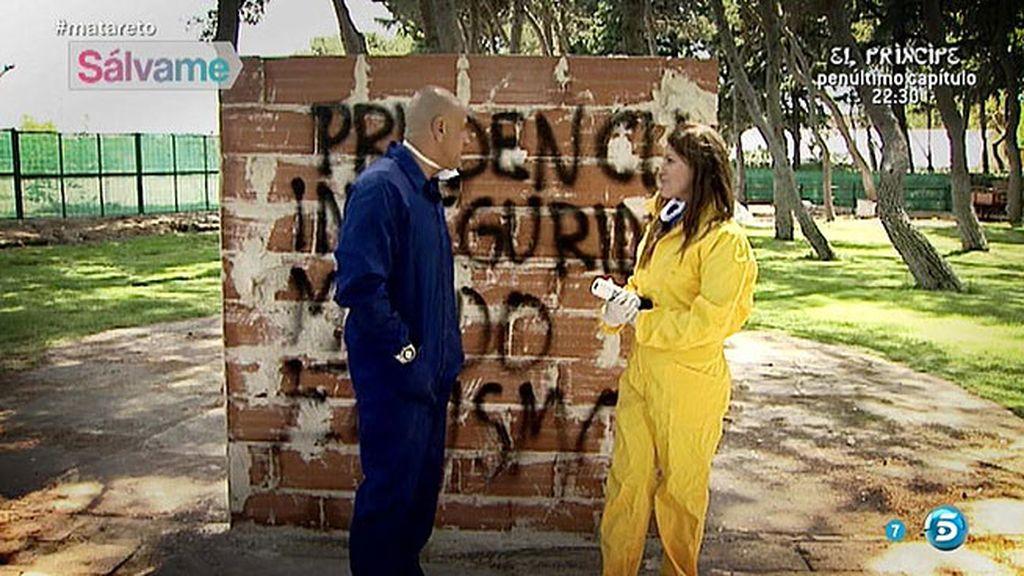 Matamoros trabaja con su coach el muro que se ha creado para evitar el dolor