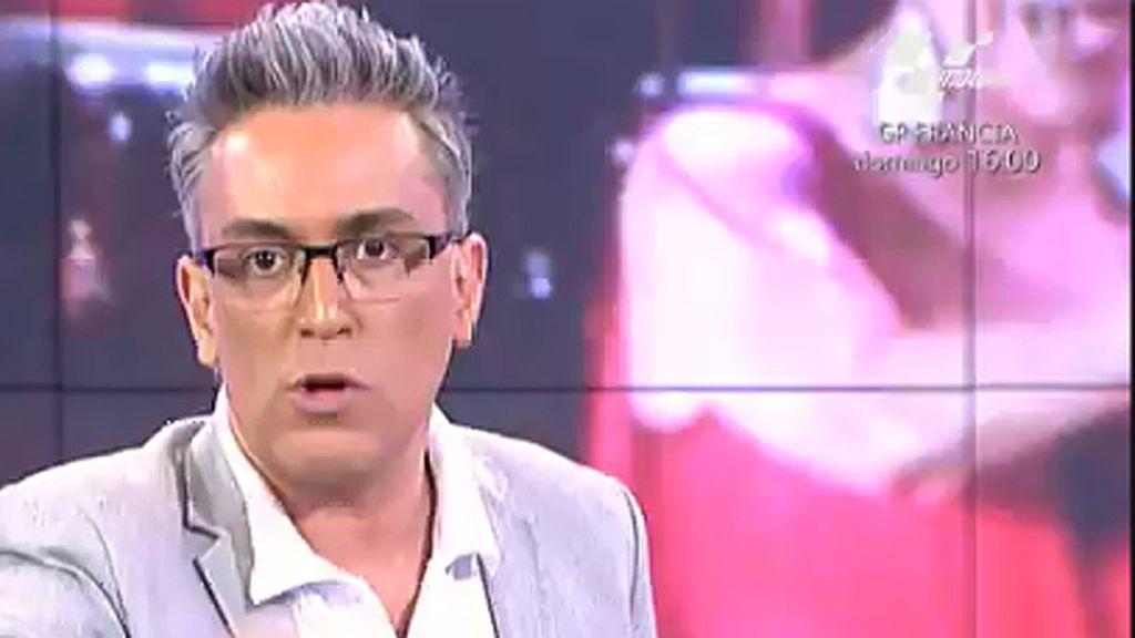 Isabel Pantoja no ha demandado a Jorge Javier Vázquez, según Kiko Hernández