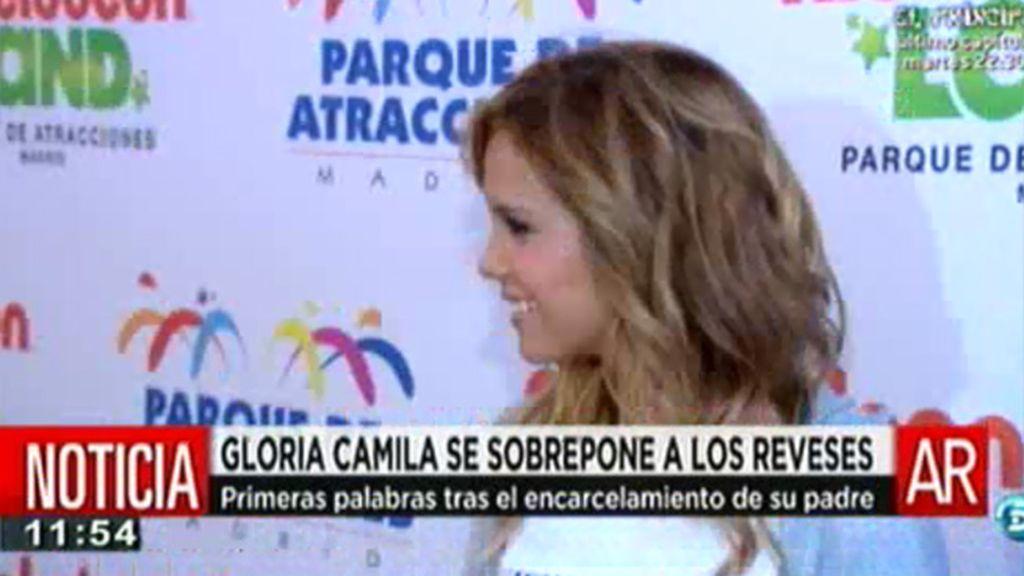Gloria Camila asegura que no está enfadada con su hermano Jose Fernando
