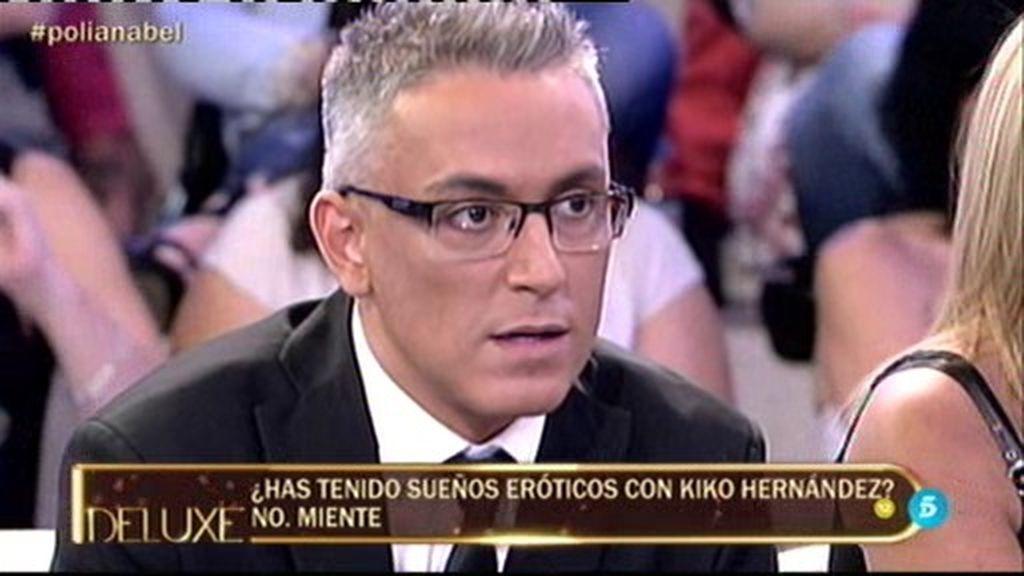 """El momento más """"hot"""" del 'Poli'... Anabel ha tenido sueños eróticos con Kiko Hernández"""