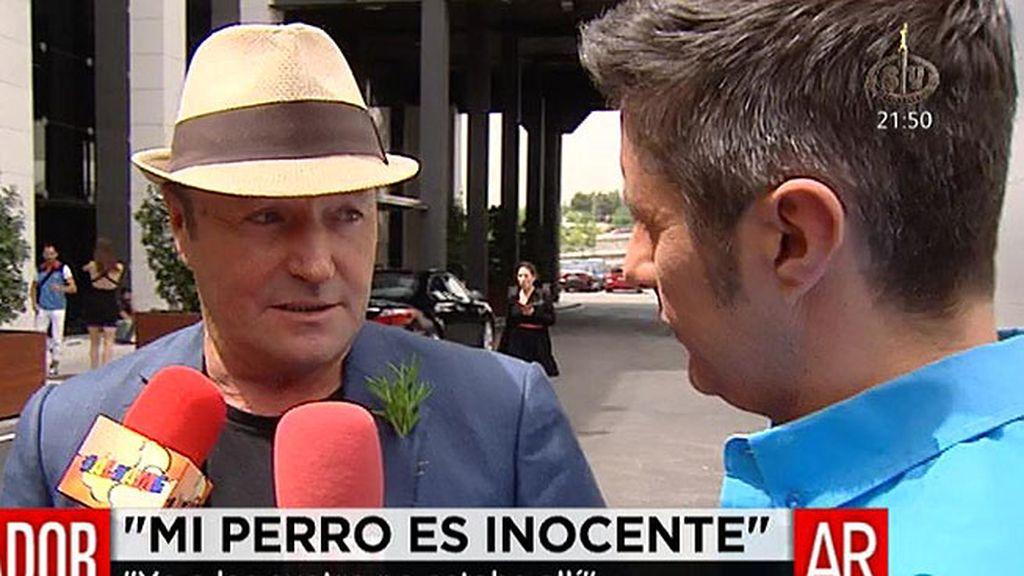 """Amador Mohedano: """"Mi perro es inocente, es un corderito"""""""