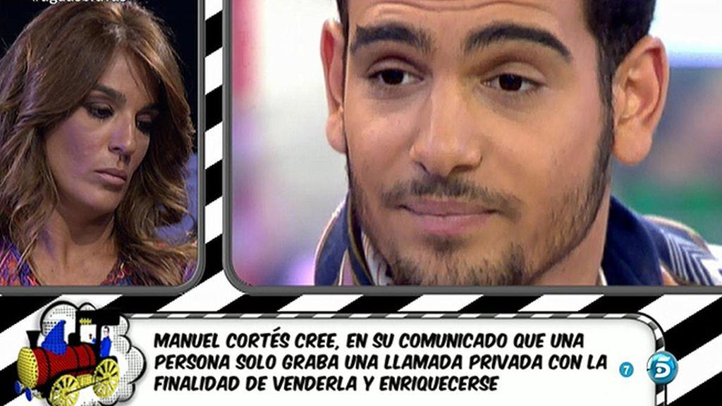 """El comunicado de Manuel Cortés: """"Se ha atentado contra mi intimidad"""""""