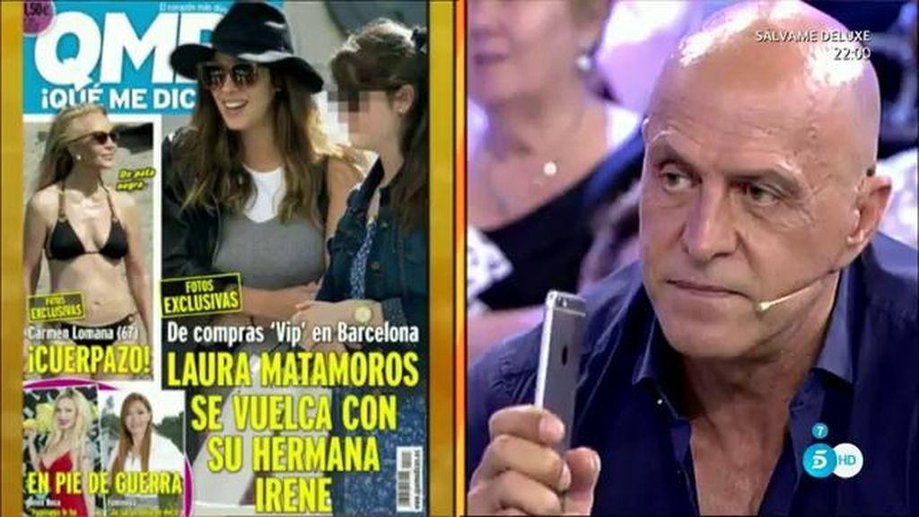 """Kiko Matamoros advierte a Luis Rollán: """"No me voy a comer ni una"""""""