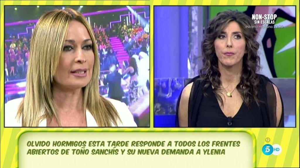 Toño Sanchís ha demandado a Ylenia Padilla, según Olvido Hormigos