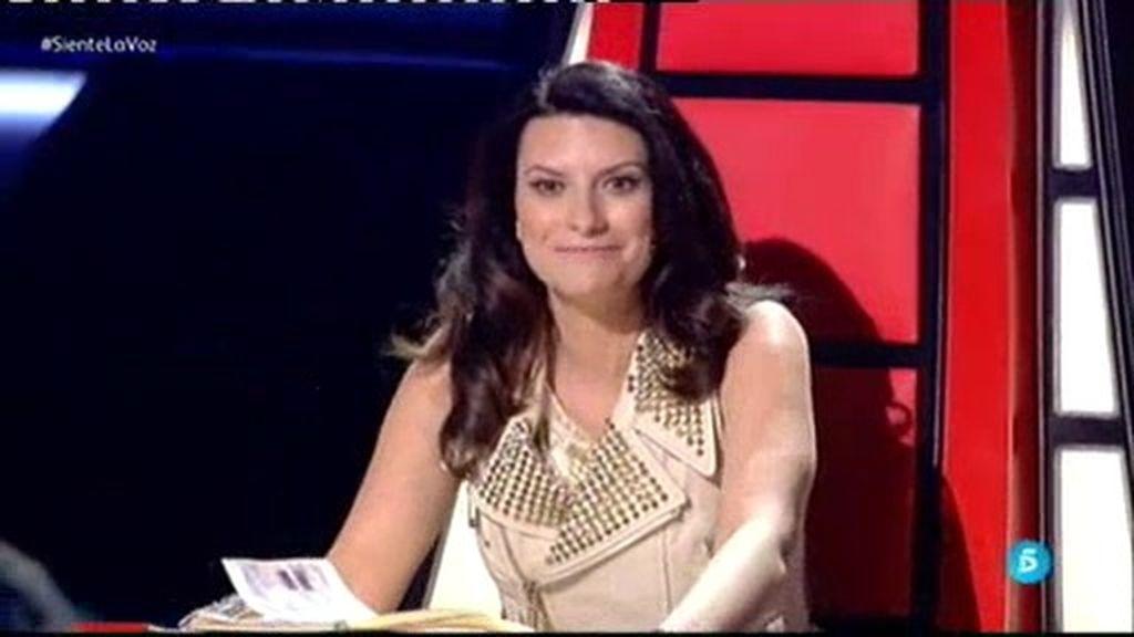 """Laura Pausini, a Diego Cartón: """"Veo que te has puesto 'buenorro"""""""
