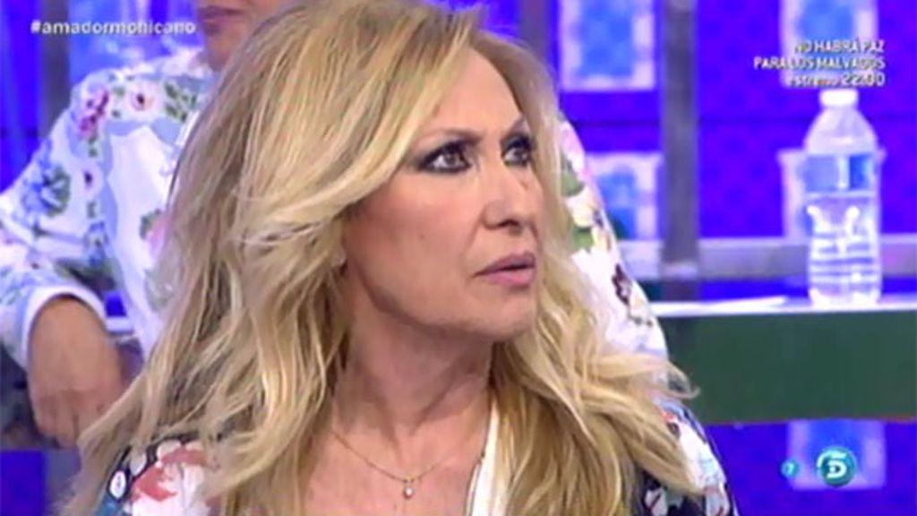 """Rosa Benito: """"Amador no buscó a nadie, fue la productora quien buscó a Amador"""""""