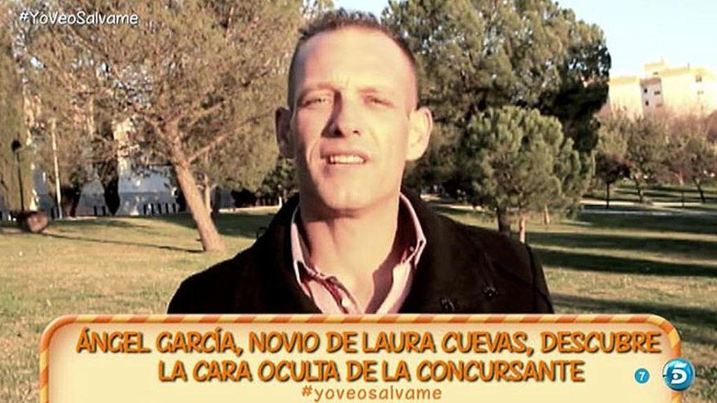 """Ángel García, novio de Laura Cuevas: """"Tiene un juicio pendiente por falsificación"""""""