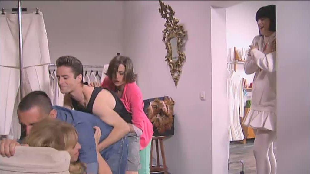 David Delfín, Bimba Bosé y Pelayo, cameo de lujo en 'La que se avecina'