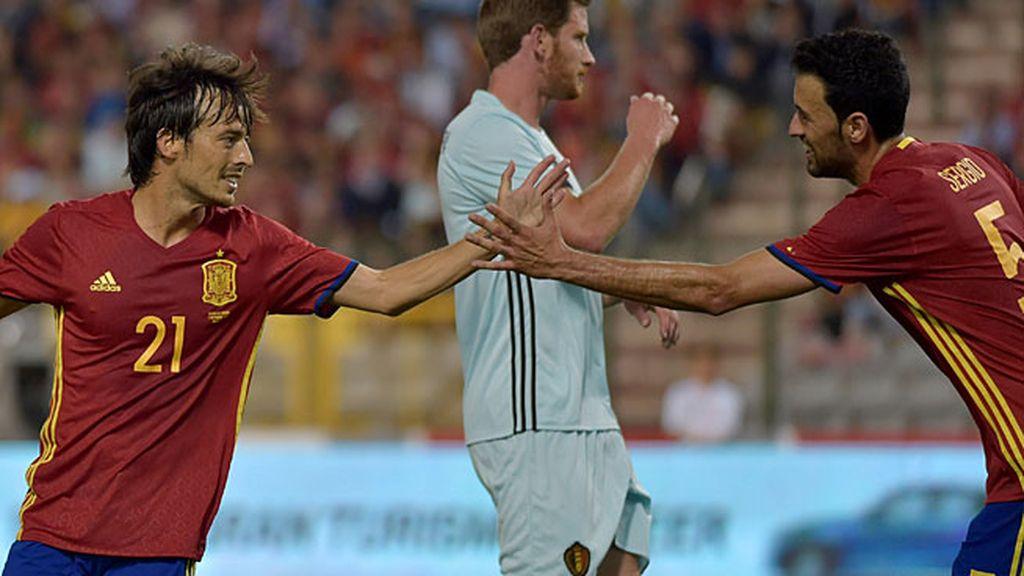 ¡Primer gol de la era Lopetegui! Silva aprovecha un rechace para marcar (0-1)