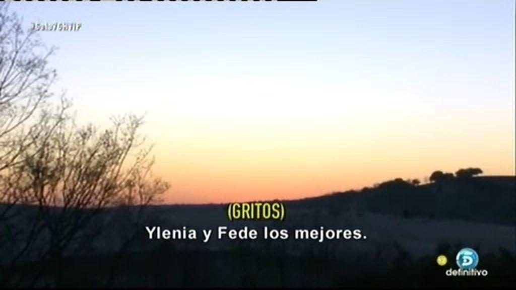 """""""Ylenia y Fede los mejores"""", unos gritos se escuchan en el jardín de Guadalix"""
