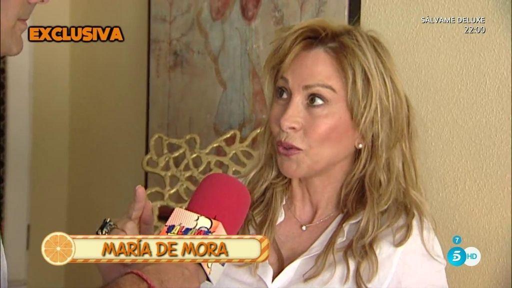 """María de Mora, contra Luis Rollán: """"El único sinvergüenza eres tú"""""""