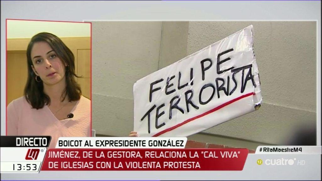 """Rita Maestre: """"Podemos no está detrás de esta protesta, se usa de forma vergonzosa"""""""