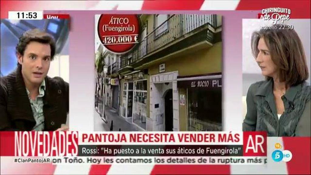 """Rossi: """"Isabel Pantoja ha puesto a la venta sus áticos en Fuengirola"""""""