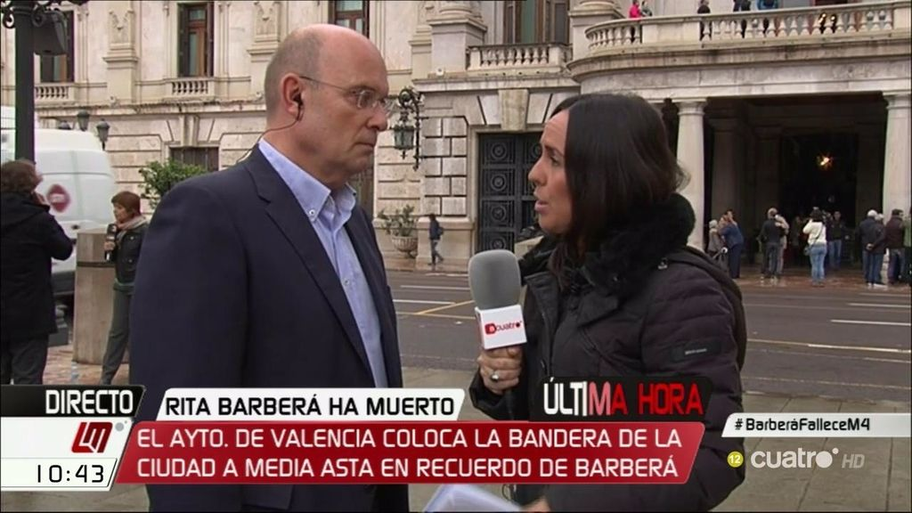 """Félix Crespo, concejal y amigo de Barberá: """"Nadie puede digerir tanta presión pública"""""""