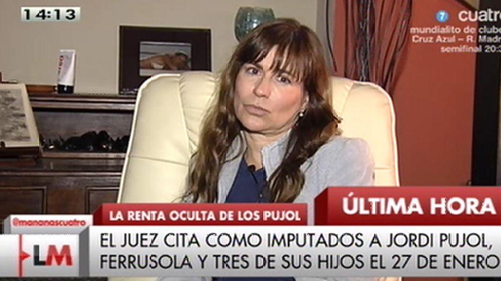 """V. Álvarez: """"Lo que va saliendo es lo que van encontrando, no lo que tienen en realidad"""""""