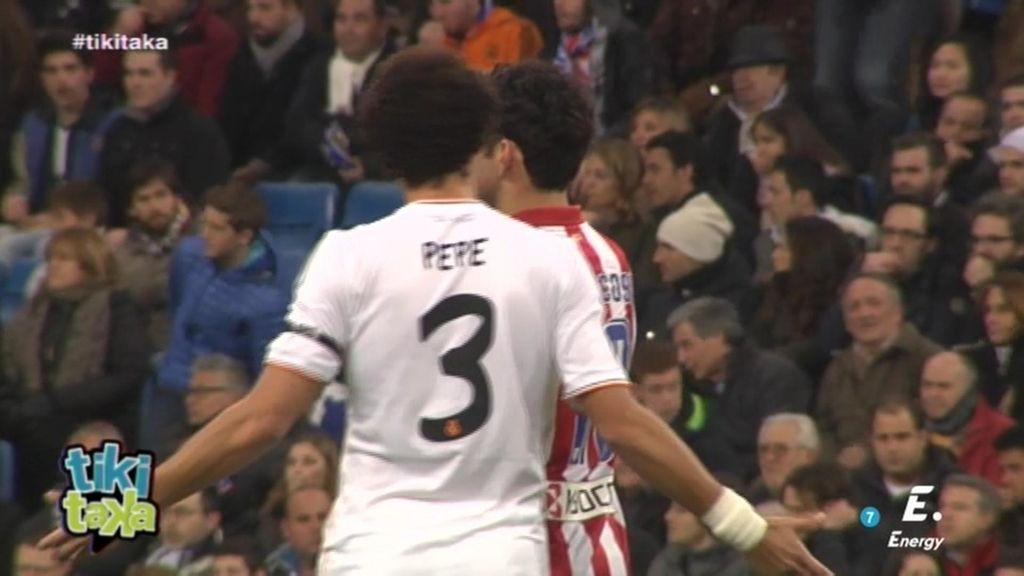 Pepe y Diego Costa: así de 'calientes' comenzaron el derbi en el Bernabéu