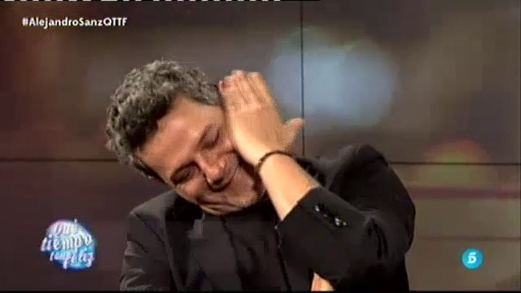 "Dylan emociona a Alejandro Sanz en '¡QTTF!': ""Papá, ¡a tope de 'Sirope'!"""