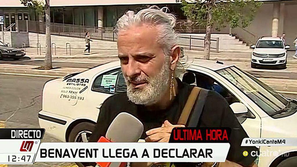 """Benavent, en exclusiva: """"Me llevé más de 100.000 euros y me lo he gastado todo"""""""