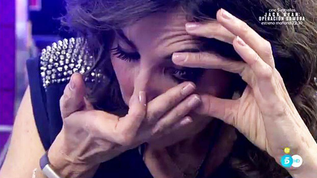 Paz Padilla, sin lentilla tras un incidente con Kiko Hernández