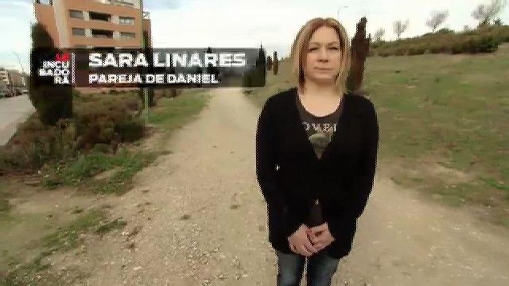 Sara Linares, es la pareja de Daniel