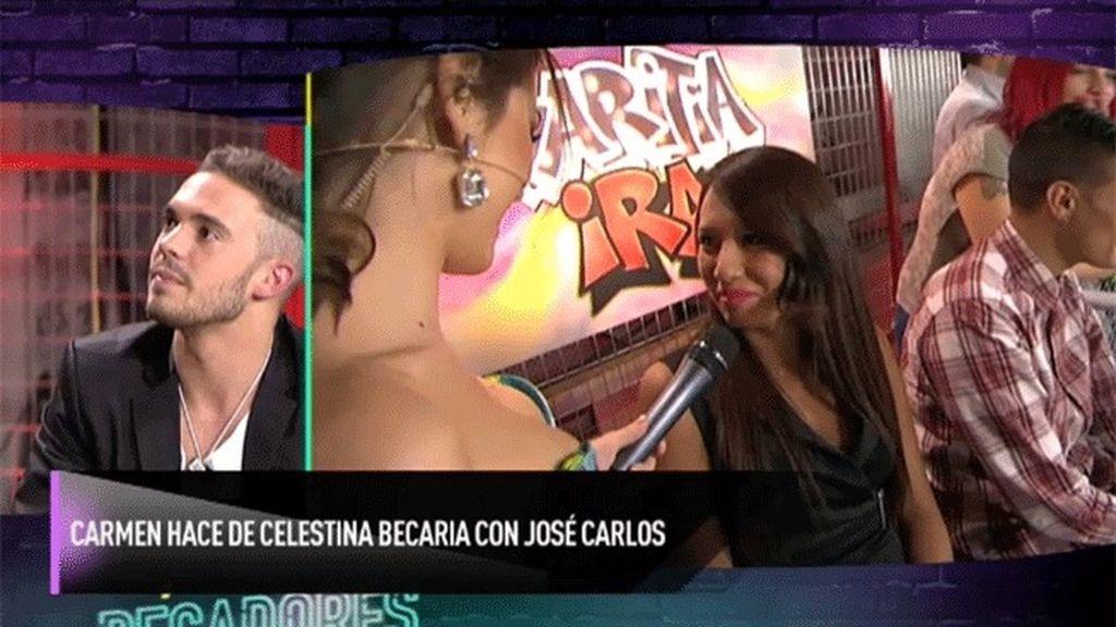 Carmen hace de celestina para José Carlos