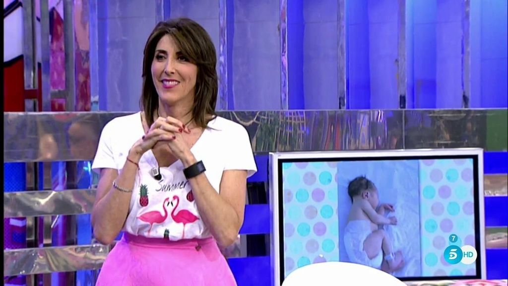Paz Padilla, emocionada tras el nacimiento de Lola, la hija de su sobrina