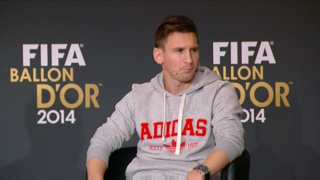 "Momento cómplice Messi-Cristiano: ""Claro que me gustaría jugar con él pero está difícil"""